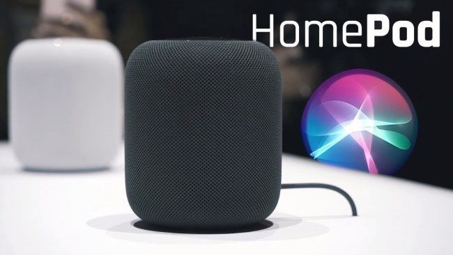 De Apple HomePod is de eerste standalone wifi luidspreker van Apple.