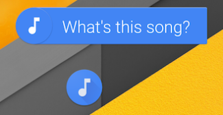 Sound Search voor Android.