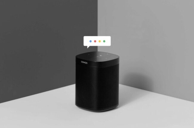 Sonos bedienen met je stem via Google Assistant.